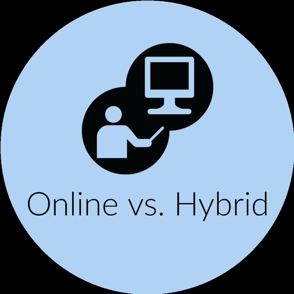 Online vs. Hybrid