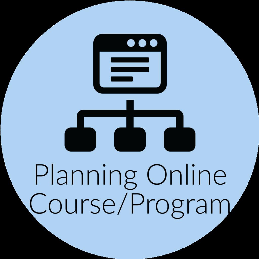 Planning Online Course or Program