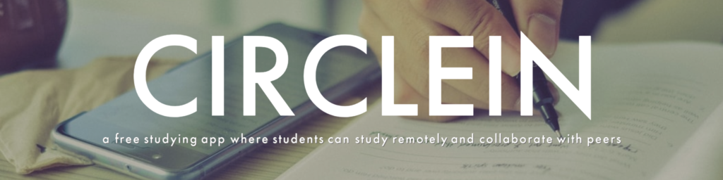 CircleIn - a free studying app where students can study remotely and collaborate with peers
